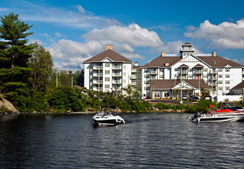 The Residence Inn Muskoka Wharf Marriott