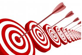 different buyer segments are like different targets to hit