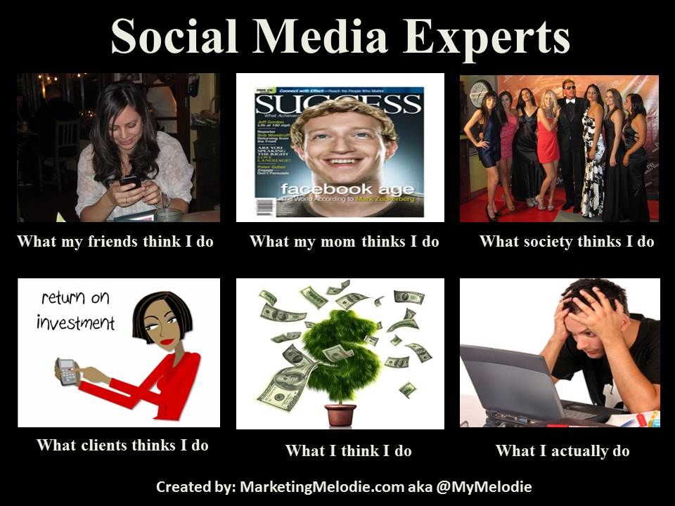 What Social Media Experts Do