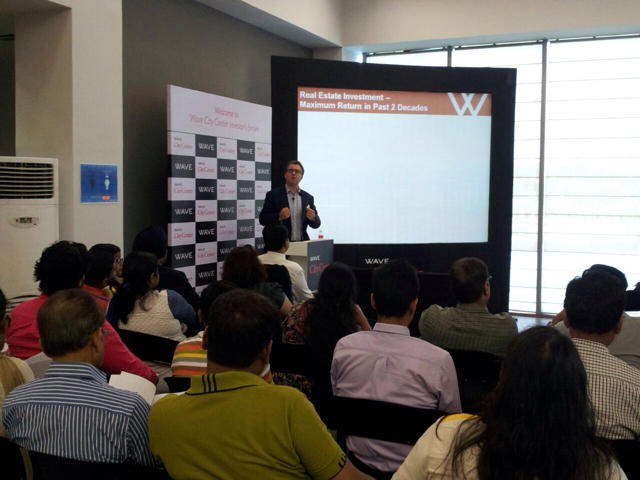 Roman recently speaking at an investor forum in India.