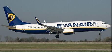 RyanAir begins operating in Glasgow