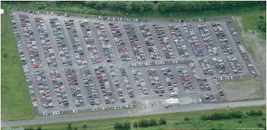 Parking Spot ay one of the UK's busiest airports